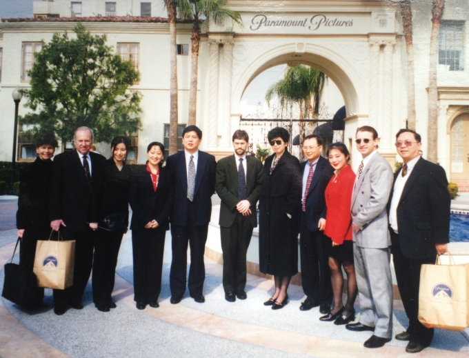 Joanne Cheng as Publicist for Chinese Film Delegation visiting Hollywood 1998