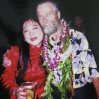 With Chuck Boller 2000 Hawaii CHINA GOLD RUSH US Premiere