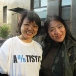 Zheng Dongmei and Joanne Cheng
