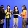 Joanne Cheng coaches pronunciation