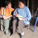 Joanne Cheng visits lotus woman for GOLDEN LOTUS