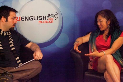 CRI Interviews Joanne Cheng 2013