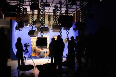 interview in studio