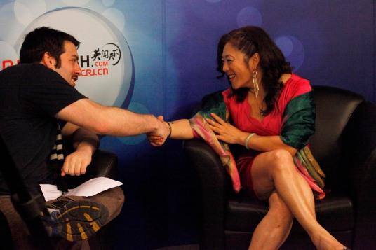 Joanne Cheng CRI studio interview 2013