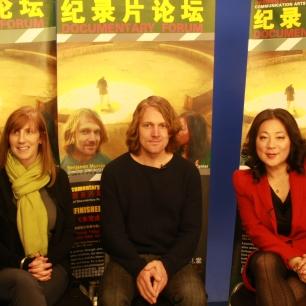 Jill Miller, Benjamin Murray and Joanne Cheng at BFSU Studio 2012
