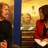 Director Benjamin Murray with Joanne Cheng at BFSU Studio 2012