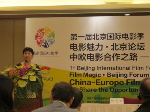 Zhang Xun hosts Coproduction Forum 2011