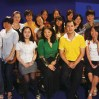Joanne Cheng studio interview with CCTV English channel host Zou Yue