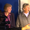 Austria film producer Mrs. Wolte and film scholar Isabel Wolte enters studio