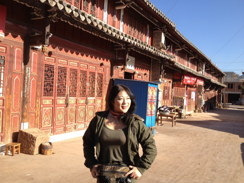 Joanne Cheng  on location,Yunnan 2013